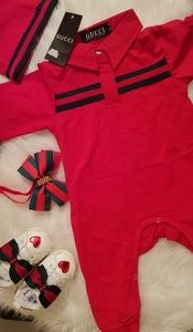 "Baby Girl Gucci Outfit, Shoes, hat, Head ""SOLD"""